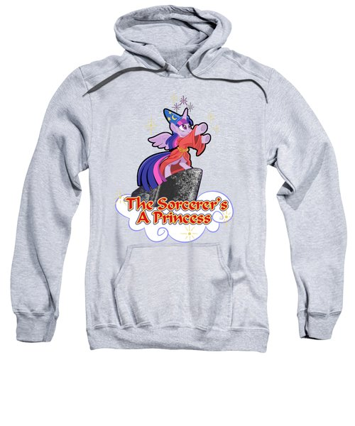 The Sorcerer's A Princess Sweatshirt by J L Meadows