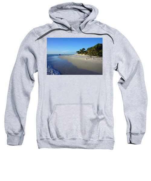 The South End Of Barefoot Beach In Naples, Fl Sweatshirt