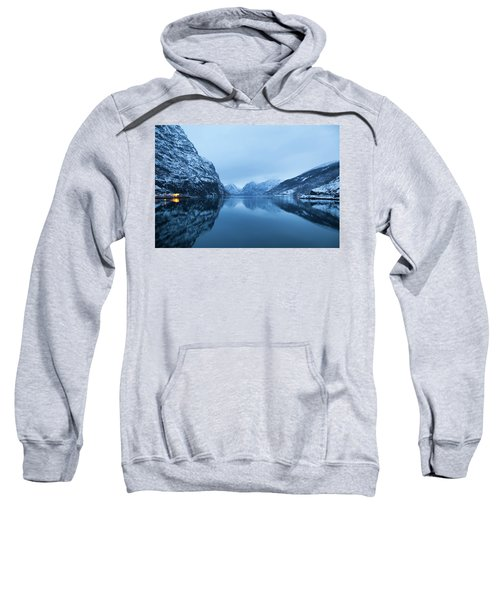 The Stillness Of The Sea Sweatshirt by David Chandler