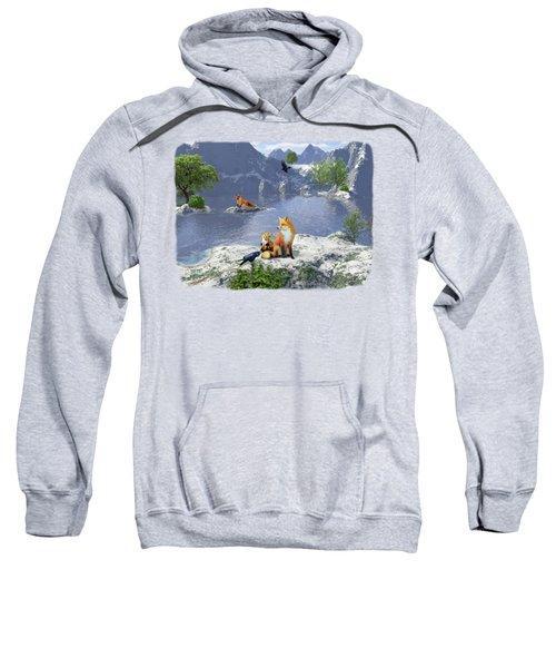 The Story Teller - Raven Tales Sweatshirt