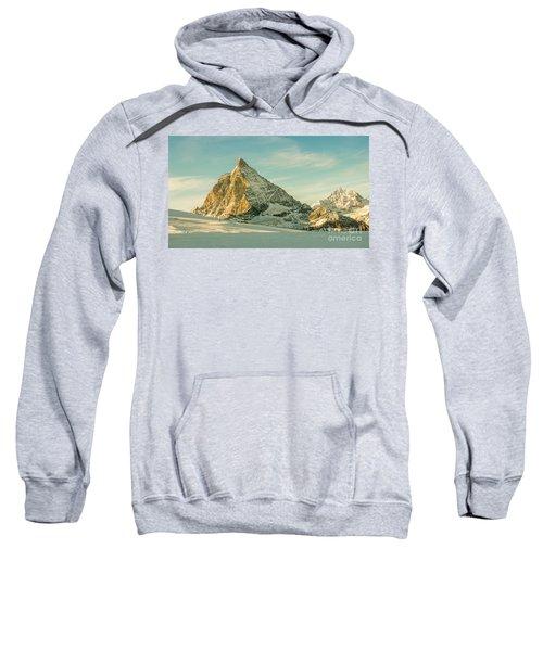 The Sun Sets Over The Matterhorn Sweatshirt