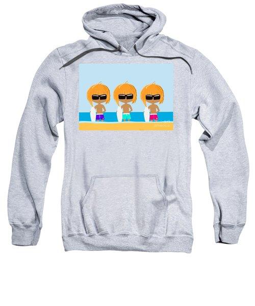The Surfing Triplets Sweatshirt
