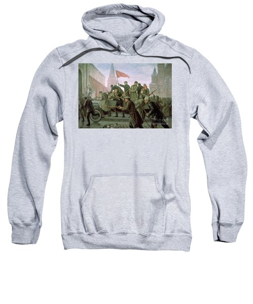 The Taking Of The Moscow Kremlin In 1917 Sweatshirt