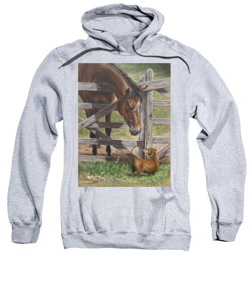 The Tall And Short Of It Sweatshirt