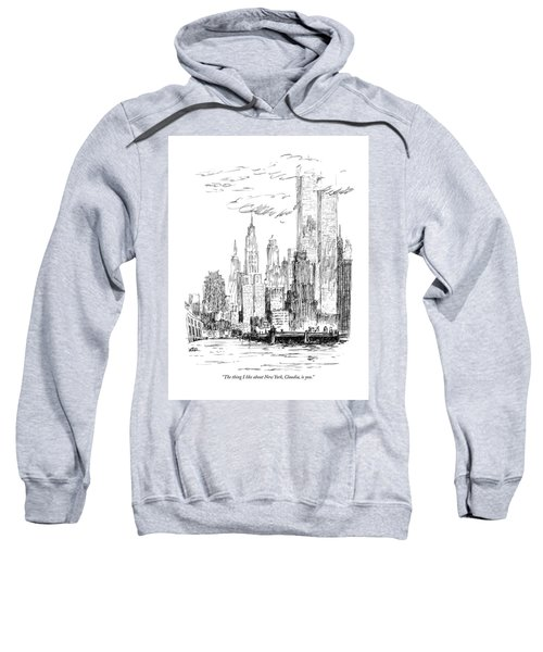 The Thing I Like About New York Sweatshirt