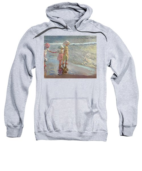The Three Sisters On The Beach Sweatshirt