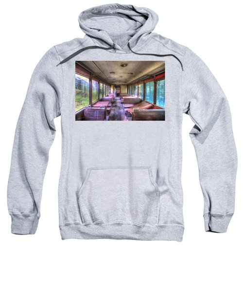 The Tram Leaves The Station... Inside Sweatshirt
