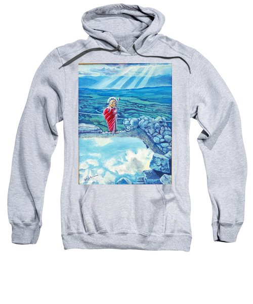 The Transcending Spartan Soldier Sweatshirt