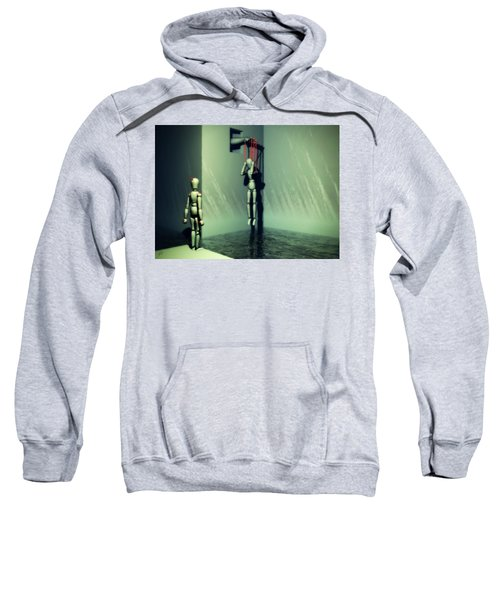 The Truthsayer Meets Denial Sweatshirt