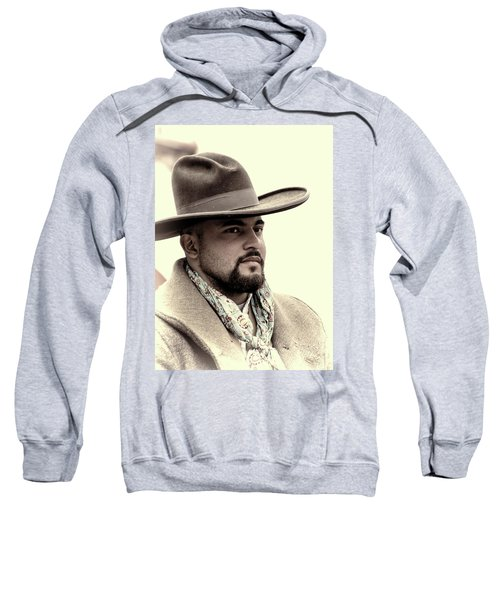 Sweatshirt featuring the photograph The Vaquero by Jeanne May