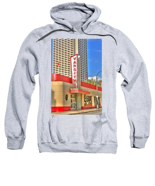 The Varsity Frontdoor Atlanta Georgia Landmark Art Sweatshirt