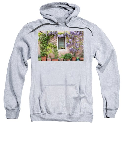 The Venice Italy Window  Sweatshirt