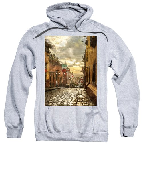 The View Looking Down Sweatshirt