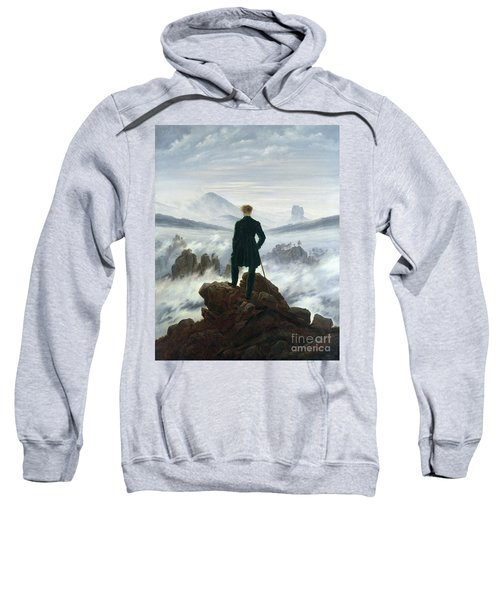 The Wanderer Above The Sea Of Fog Sweatshirt