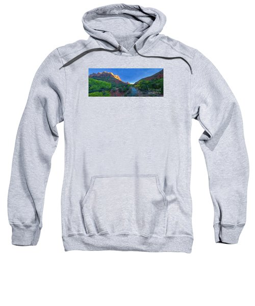 The Watchman Zion National Park Sweatshirt
