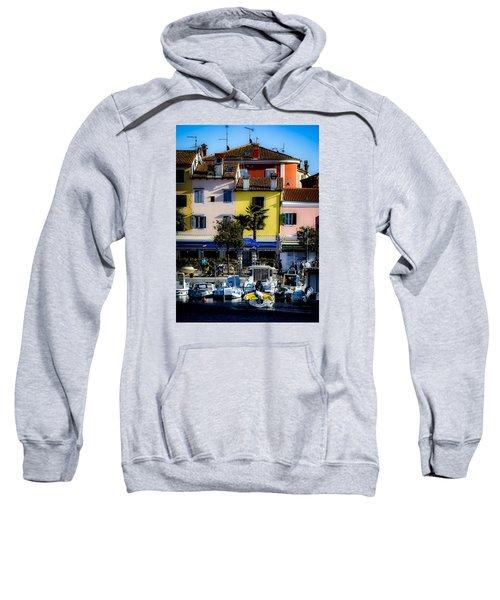 The Watercolors In Split Sweatshirt