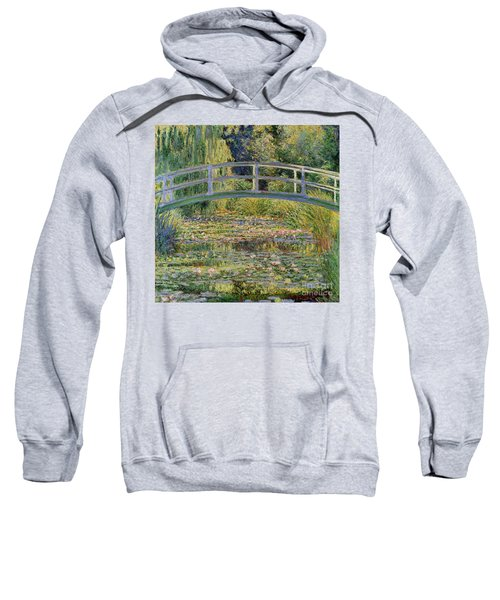 The Waterlily Pond With The Japanese Bridge Sweatshirt