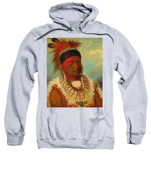 The White Cloud, Head Chief Of The Iowas Sweatshirt