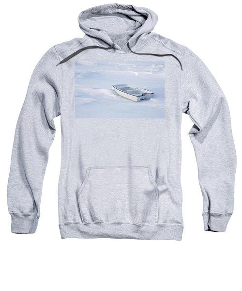 The White Fishing Boat Sweatshirt