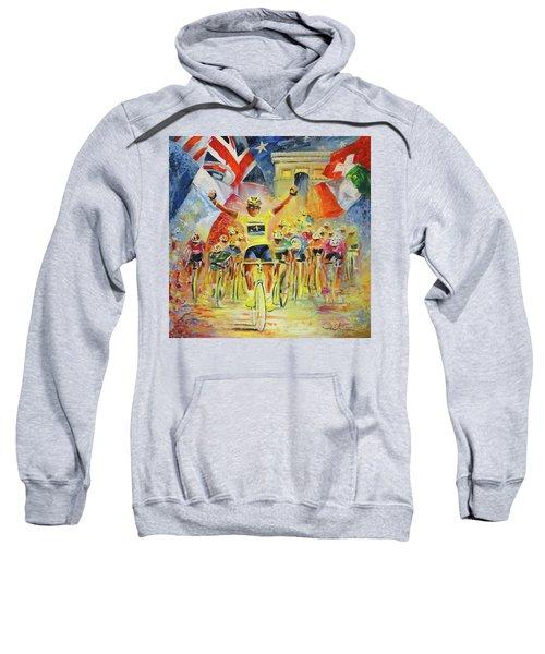 The Winner Of The Tour De France Sweatshirt