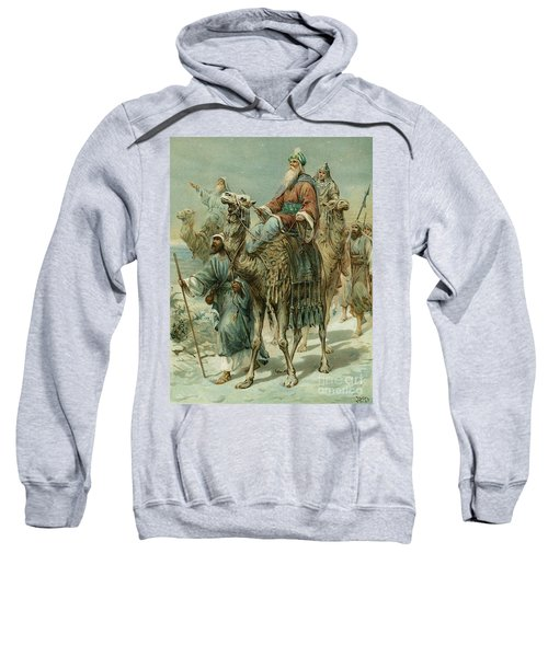 The Wise Men Seeking Jesus Sweatshirt