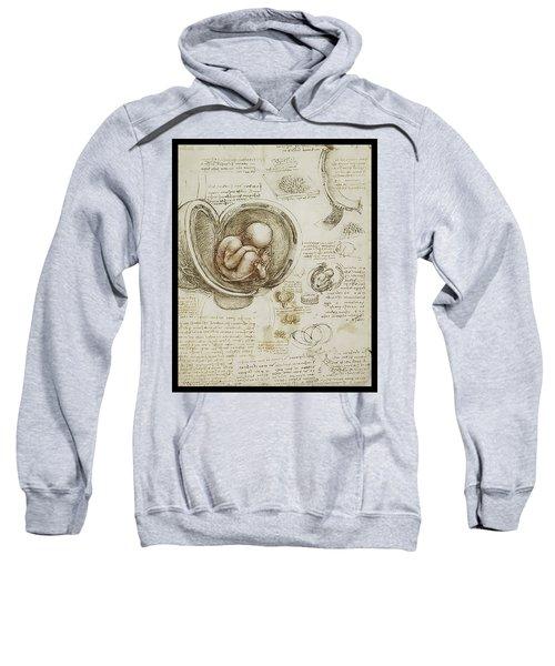 The Womb And Embreyo  Sweatshirt