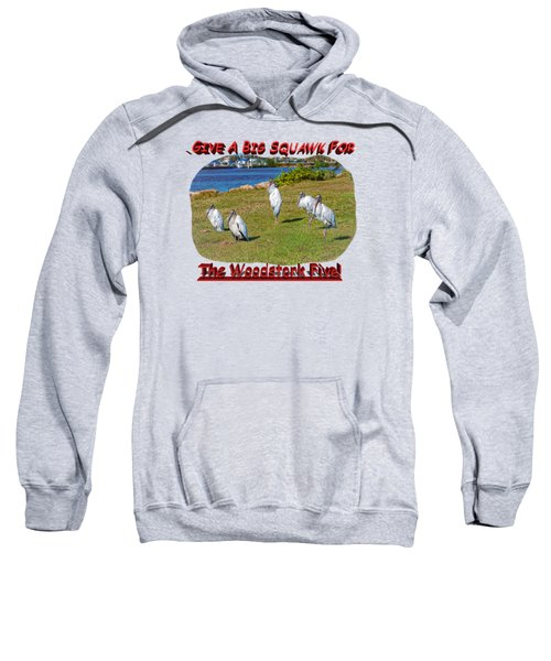 The Woodstork Five Sweatshirt by John M Bailey