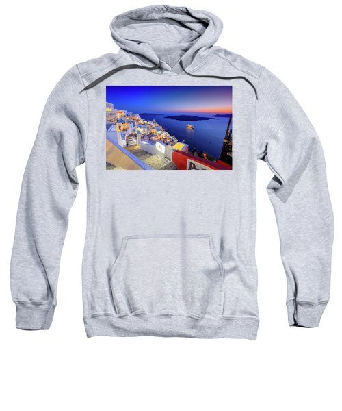 Thera Sunset  Sweatshirt