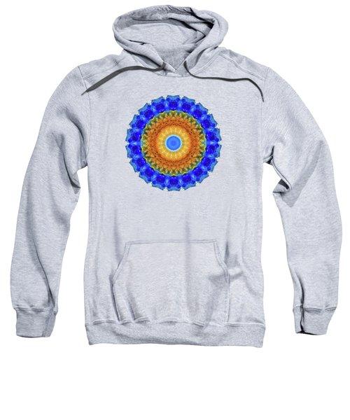 Third Eye Mandala Art By Sharon Cummings Sweatshirt