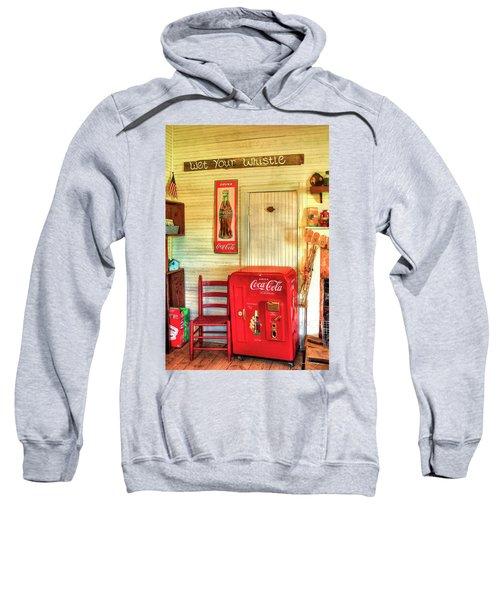 Thirst-quencher Old Coke Machine Sweatshirt