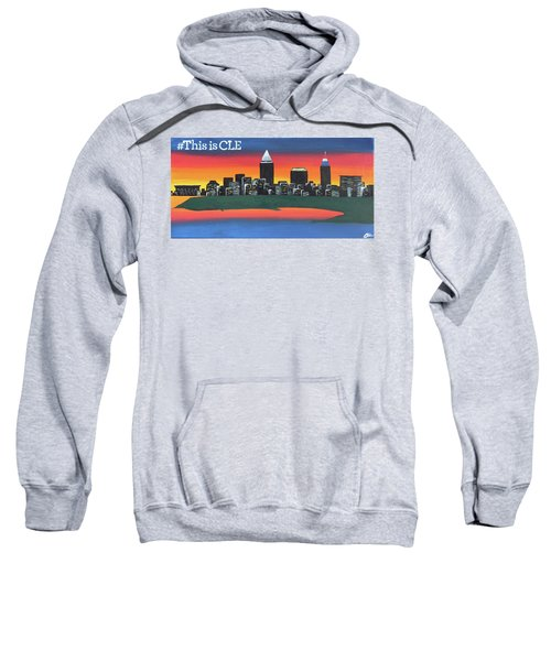 This Is Cle Sweatshirt by Cyrionna The Cyerial Artist