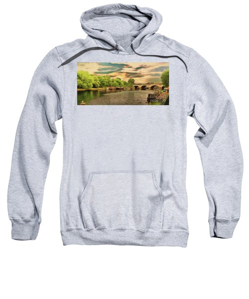 This Morning On The River Sweatshirt