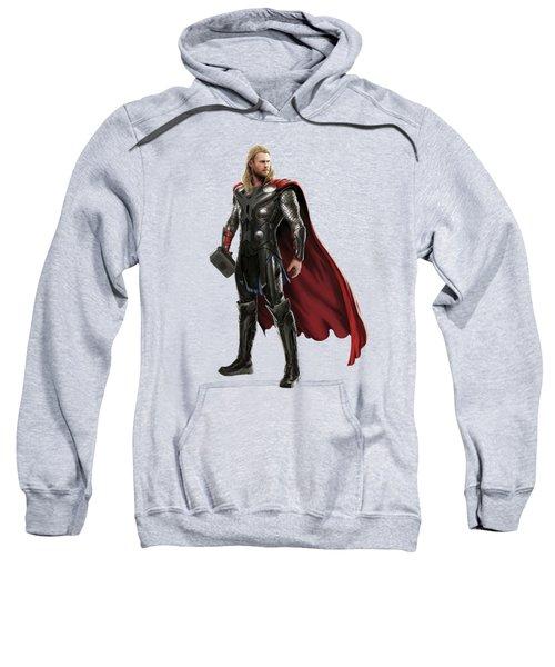 Thor Splash Super Hero Series Sweatshirt