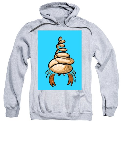 Thoughts And Colors Series Hermit Crab Sweatshirt