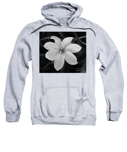 Threadleaf In Black And White Sweatshirt