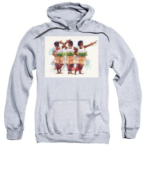 Three Fijian Dancers Sweatshirt