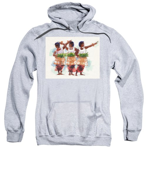 Three Fijian Dancers Sweatshirt