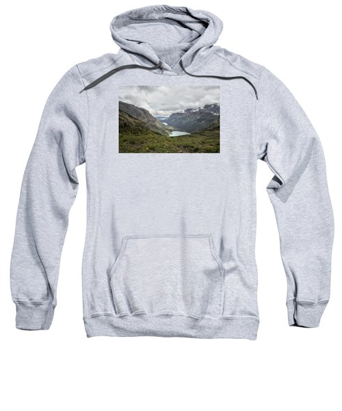 Three Lakes Viewed From Grinnell Glacier Sweatshirt