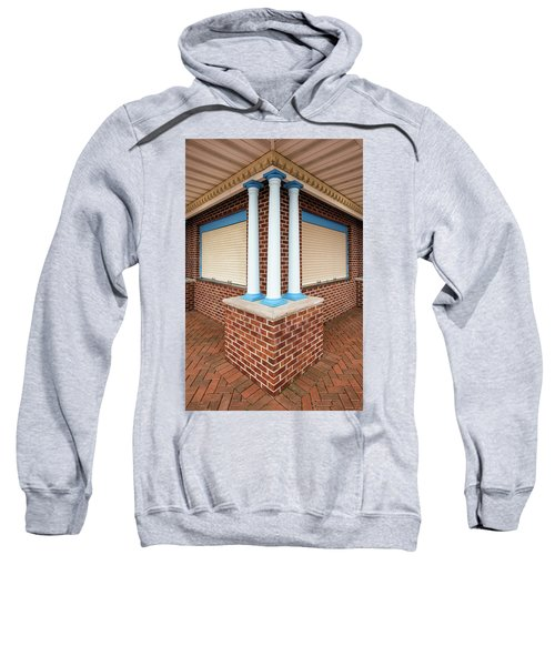 Three Pillars At The Refreshment Stand Sweatshirt