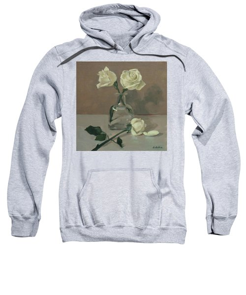 Three Roses In A Tequila Bottle Sweatshirt