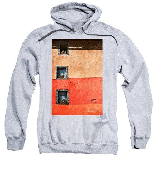 Three Vertical Windows Sweatshirt by Silvia Ganora