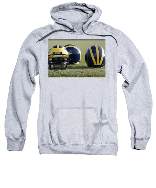 Three Wolverine Helmets Sweatshirt