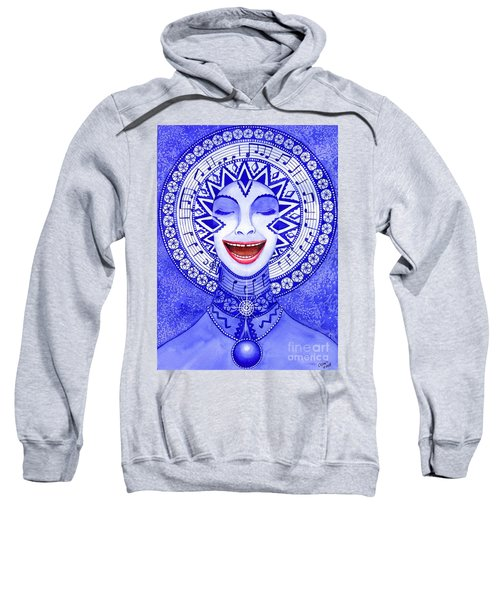 Throat Chakra Sweatshirt