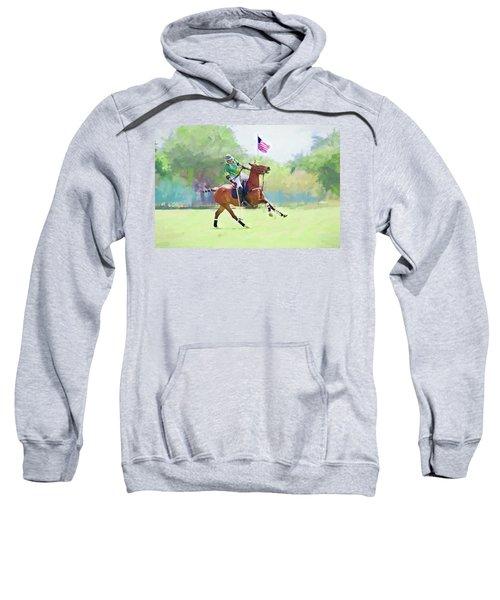 Throw In Sweatshirt