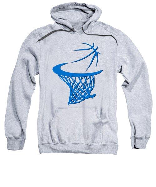Thunder Basketball Hoop Sweatshirt