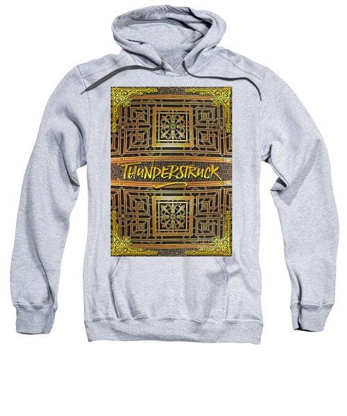 Thunderstruck Opera Garnier Ornate Mosaic Floor Paris France Sweatshirt