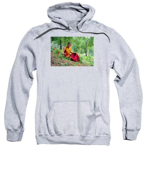 Tibetan Doctor In Lahav Forest Sweatshirt