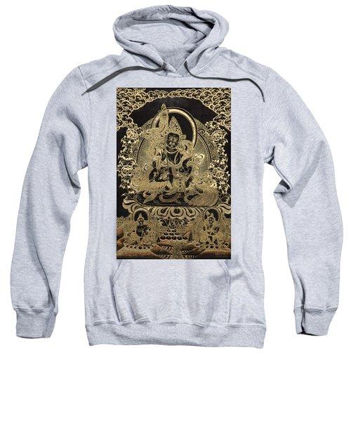 Tibetan Thangka - Vaishravana Sweatshirt