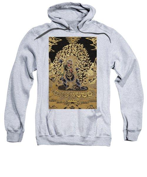 Tibetan Thangka - Vajrapani  Sweatshirt