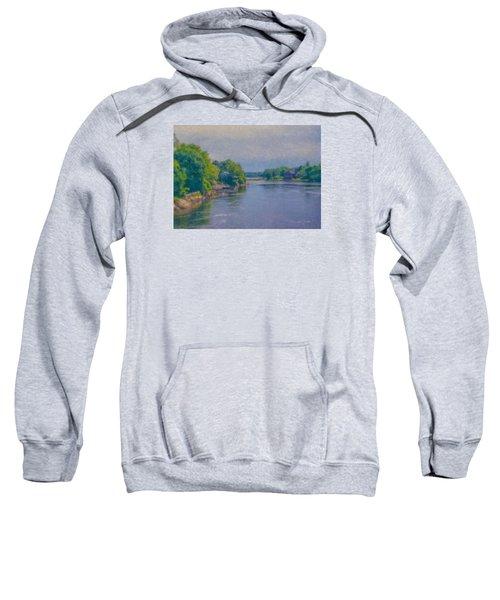 Tidal Inlet In Southern Maine Sweatshirt
